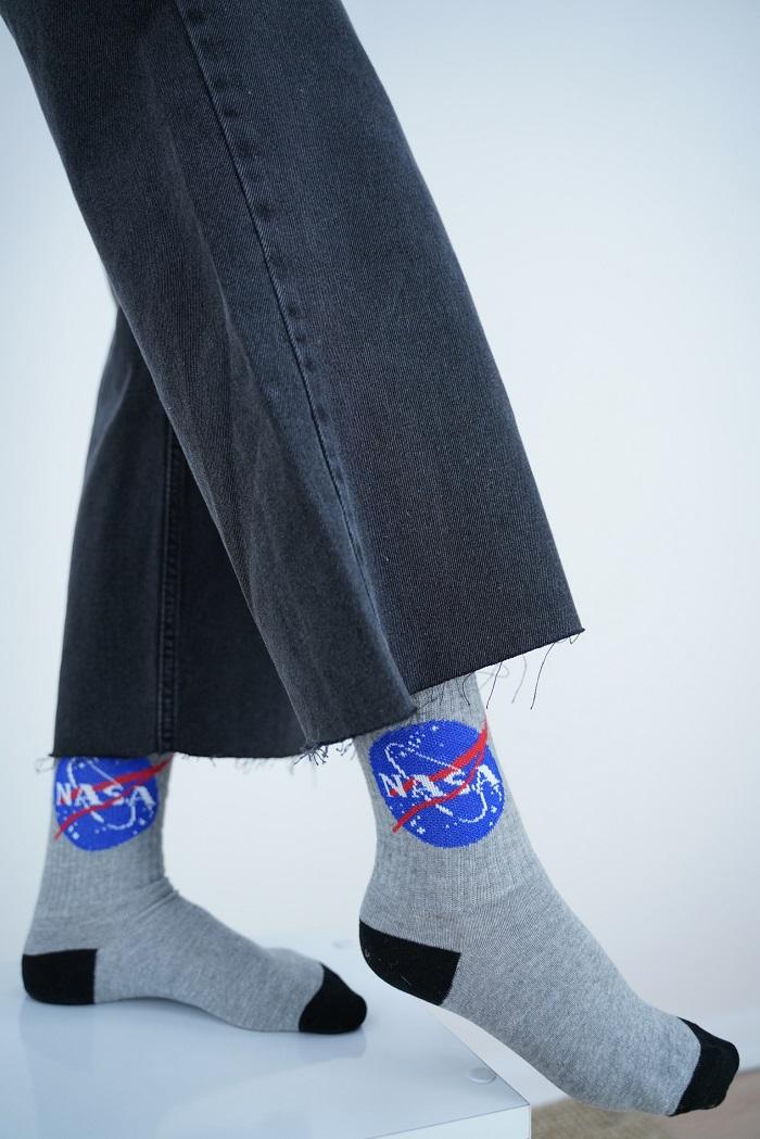 NASA BASKILI ÇORAP